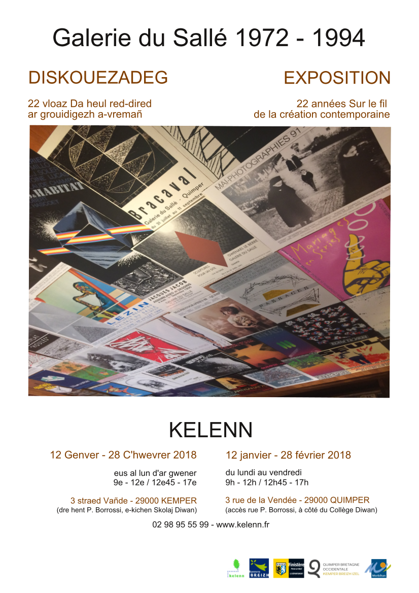 Diskouezadeg La Galerie du Sallé 1972-1994
